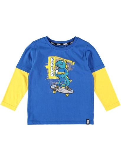 Toddlers Nrl Double Sleeve Tee
