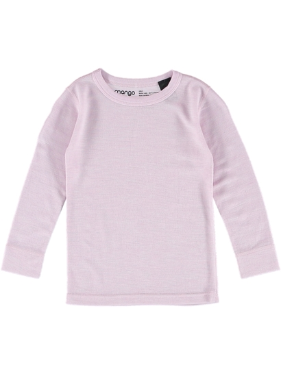 Girls Merino Wool Long Sleeve Thermal