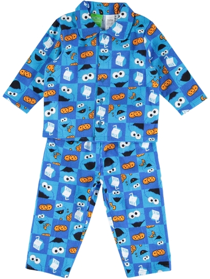 Baby Pyjama Cookie Monster