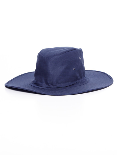 NAVY BLUE KIDS WIDE BRIM HAT