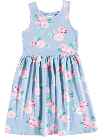 Girls Bow Back Dress