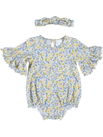 Baby Romper And Headband