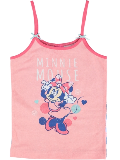 Girls Minnie Mouse Singlet
