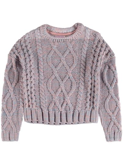 Girls Cable Knit Sweater