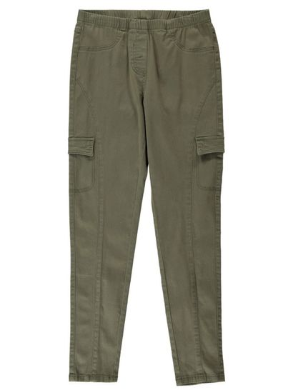 Womens Cargo Jegging