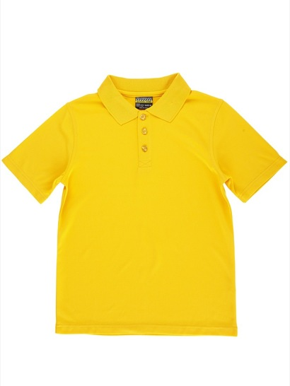 GOLD KIDS MESH POLO