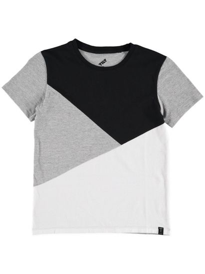 Boys Ss Cut And Sew Tee
