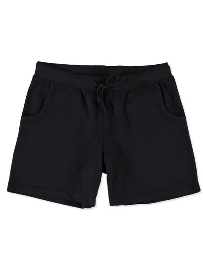 LADIES PLUS BASIC KNIT SHORT