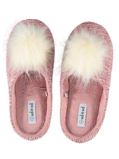Women Pom Slipper