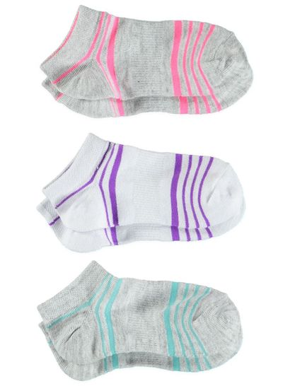 Girls 3Pk Underworks No Show Trainer