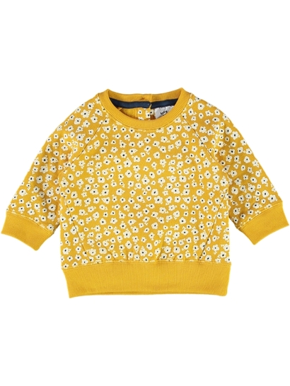 Baby Print Fleece Sweater