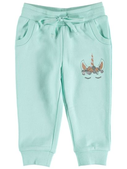 Toddler Girls Printed Trackpant