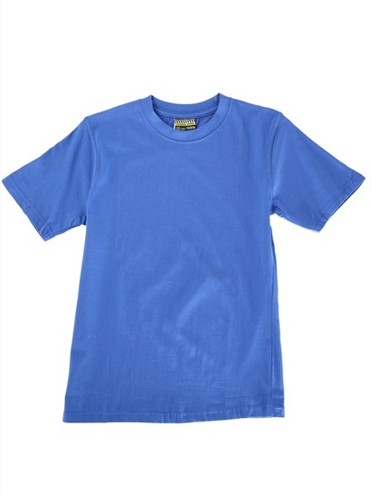 ROYAL BLUE KIDS BASIC T-SHIRT