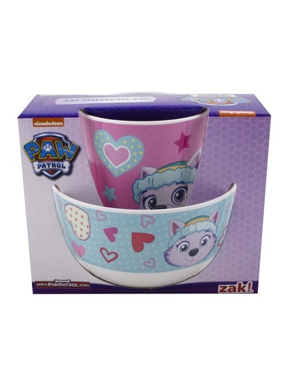 Paw Patrol Girls Cup And Bowl Set