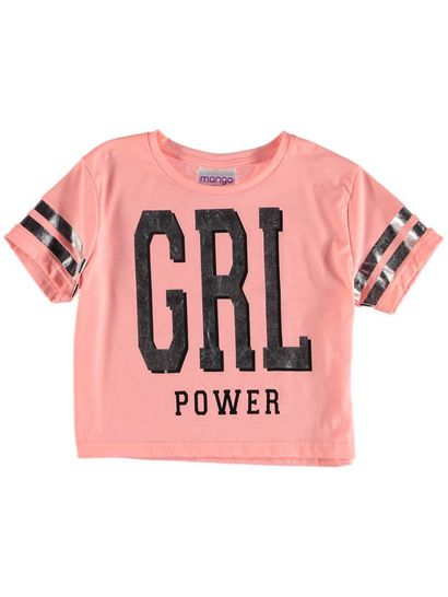 Girls Collegic Tee