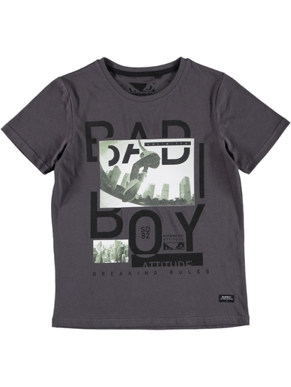Boys Bad Boy Photo Print T-Shirt