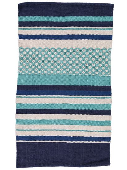 Multi Stripe Bathmat