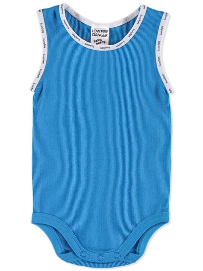 BABY COTTON RIB SINGLET BODYSUIT