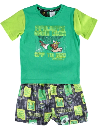 Toddler Nrl Knit Satin Pj