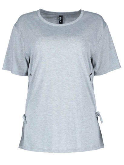 Plus Laced Eyelet Tee Womens