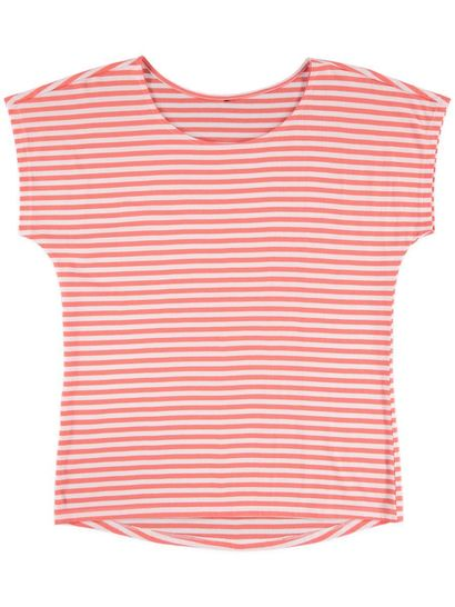 Plus Yarn-Dyed Stripe Tee Womens