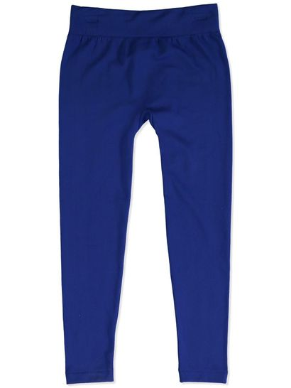 ROYAL BLUE GIRLS FLEECE LEGGINGS