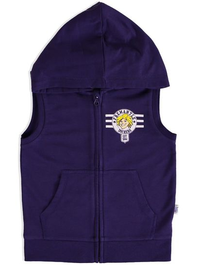 TODDLER SLEEVELESS HOODIE AFL