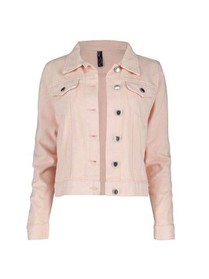 Plus Denim Jacket Womens