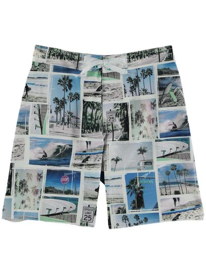 Boys Print Board Short