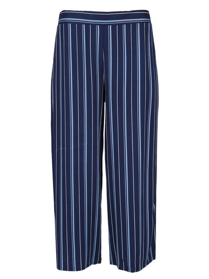 Womens Striped Culotte