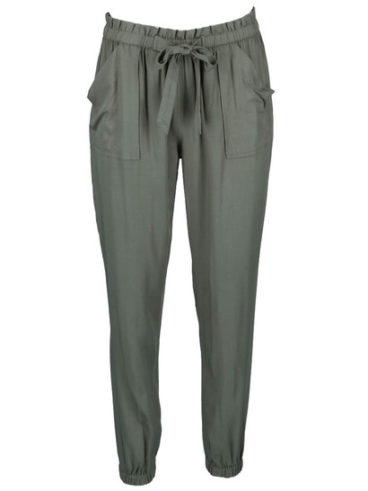 Womens Plus Paperbag Long Pant