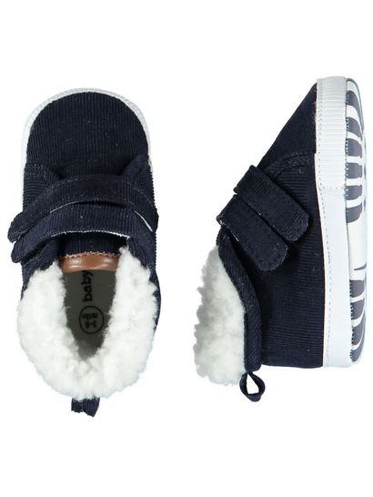 Baby Boy Soft Sole Cord Shoe