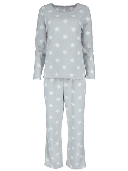 Womens Microfleece Pj Set