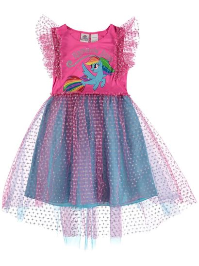 Toddler Girl My Little Pony Tulle Dress