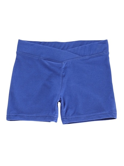 ROYAL BLUE GIRLS BIKE SHORTS