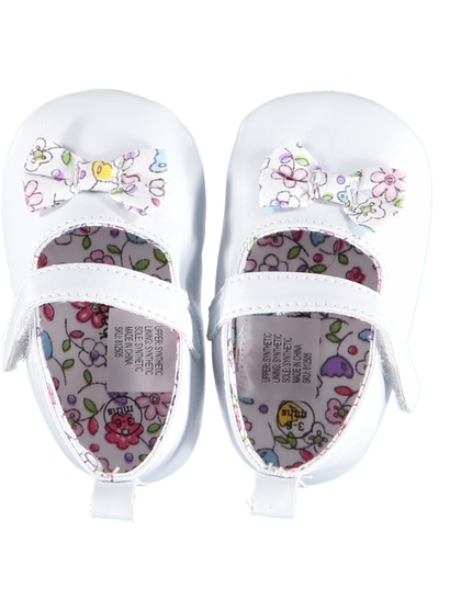 Baby Girl Soft Sole Bow Shoe
