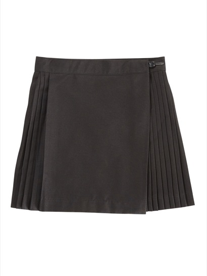 BLACK GIRLS NETBALL SKIRT