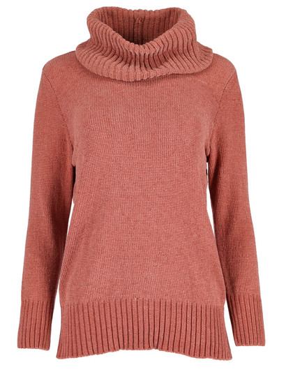 Plus Chenille Roll Neck Pullover Womens