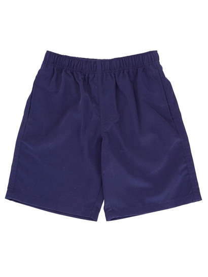 NAVY BLUE BOYS PLAIN SHORTS