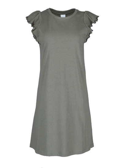 Womens Ruffle Sleeve Dress