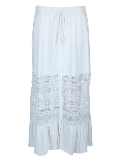 Miss Mango Lace Maxi Skirt