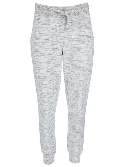 Womens Plus Space Dye Trackpant