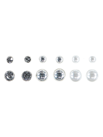 Multi Stud Earring Pack