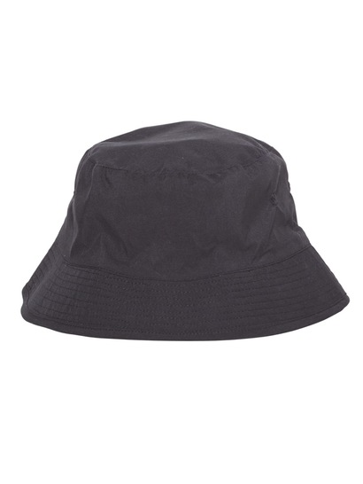 BLACK KIDS MICROFIBRE BUCKET HAT