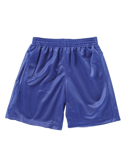 ROYAL BLUE BOYS MESH REVERSIBLE SHORTS