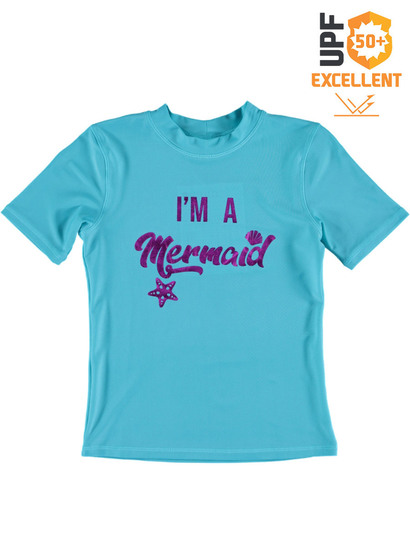 Girls Foil Mermaid Rashi