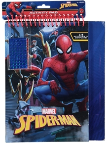 Spiderman Spiral Activity Pad