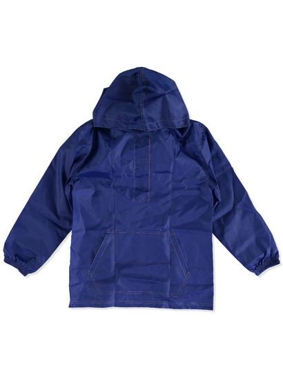 ROYAL BLUE KIDS PULL OVER SPRAY JACKET