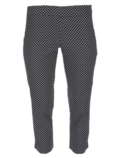 Womens Plus Printed Bengaline Pant