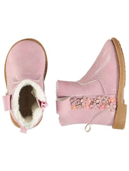 Bay Girl Hard Sole Flower Boot